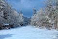 On Frozen Pond print
