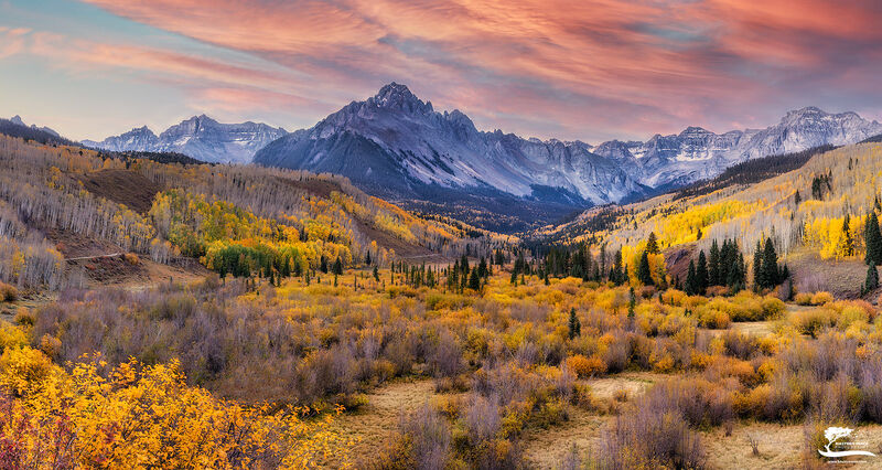 san, juans, colorado, sneffels, climbers, sunrise, panorama, ridgeway, telluride, sky, clouds