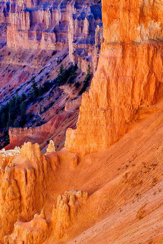 red rocks,bryce,colors,fall,utah,, photo