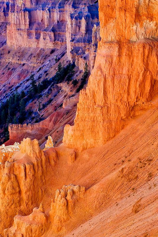 red rocks,bryce,colors,fall,utah,, photo