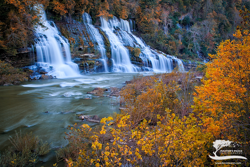 rock island, tennessee, waterfall, fall,