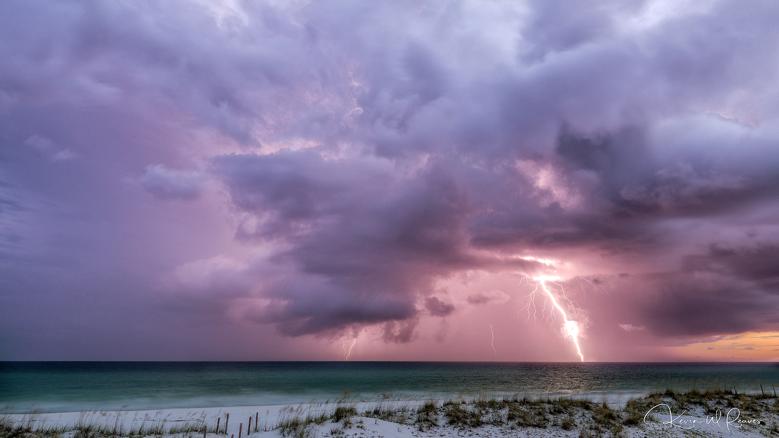 Upon our arrival on the first night of our vacation, an intense lightning storm appeared out of nowhere and put on a show just...