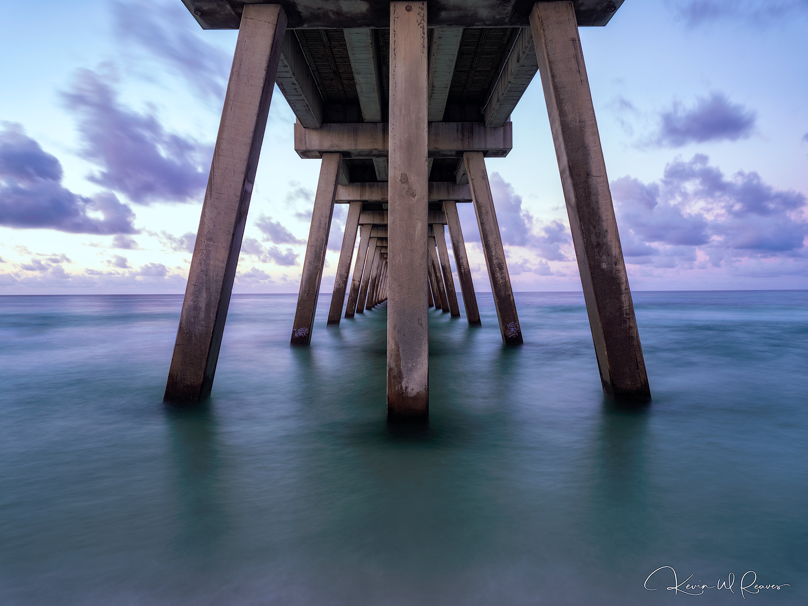 A shot underneath the Pier in Pensacola.